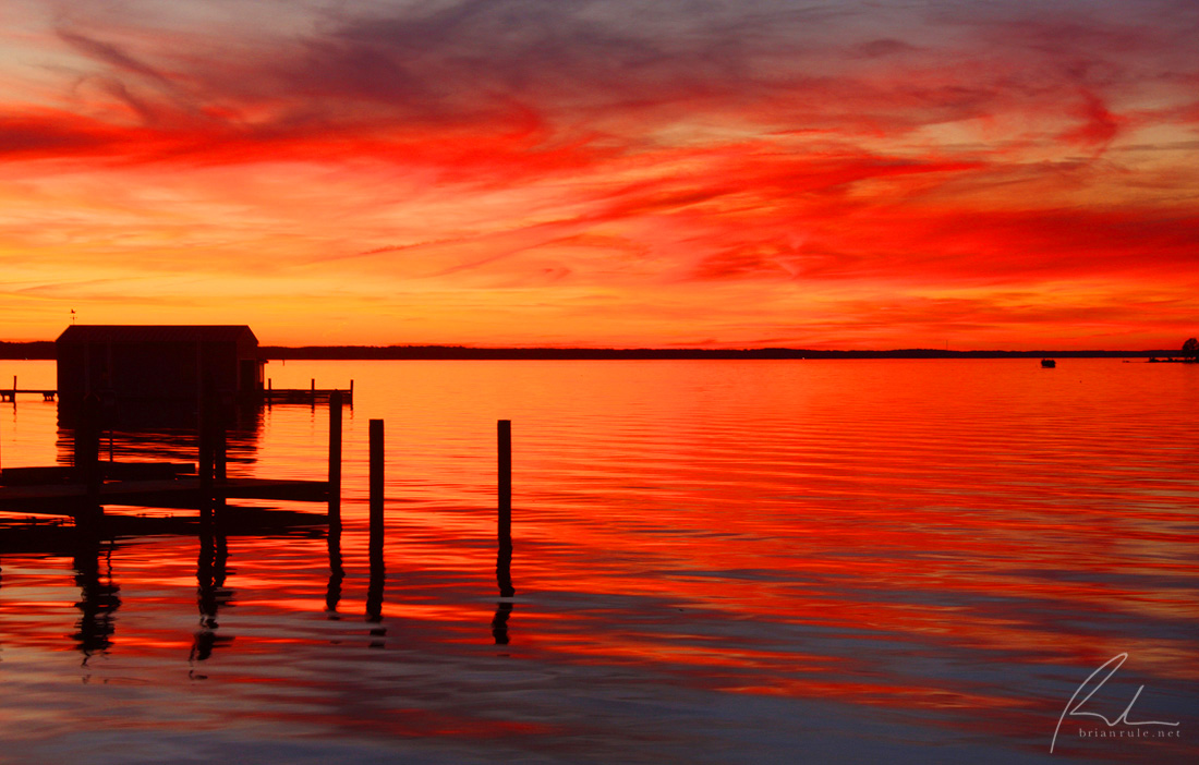 brian-rule-photo-rappahannock-sunset-red-orange