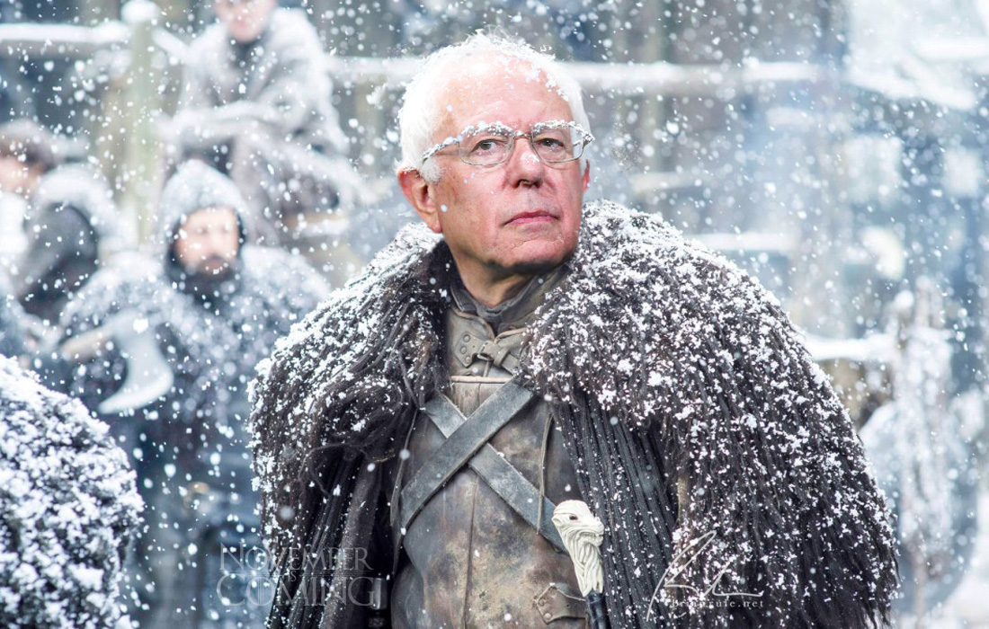 November Is Coming: Bernie