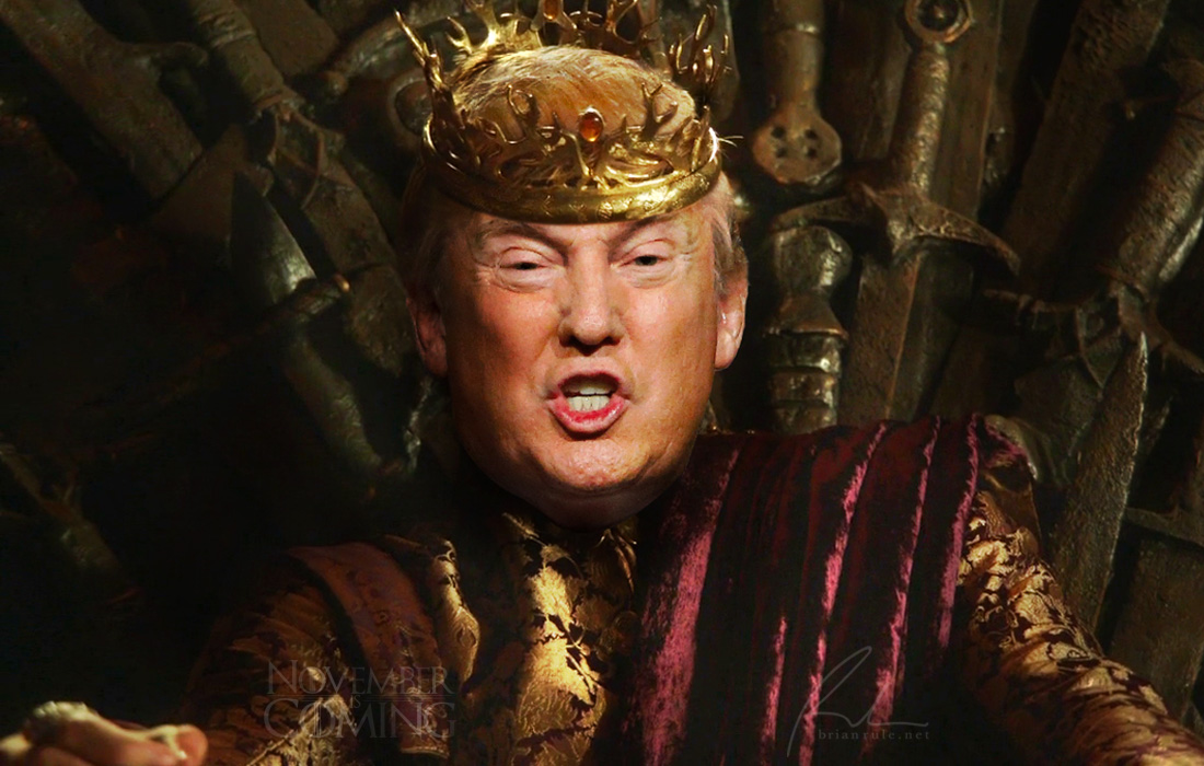 November Is Coming: Donald Drumpf